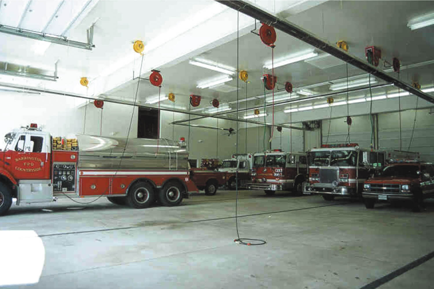 Barrington Public Safety Police and Fire Headquarters garage