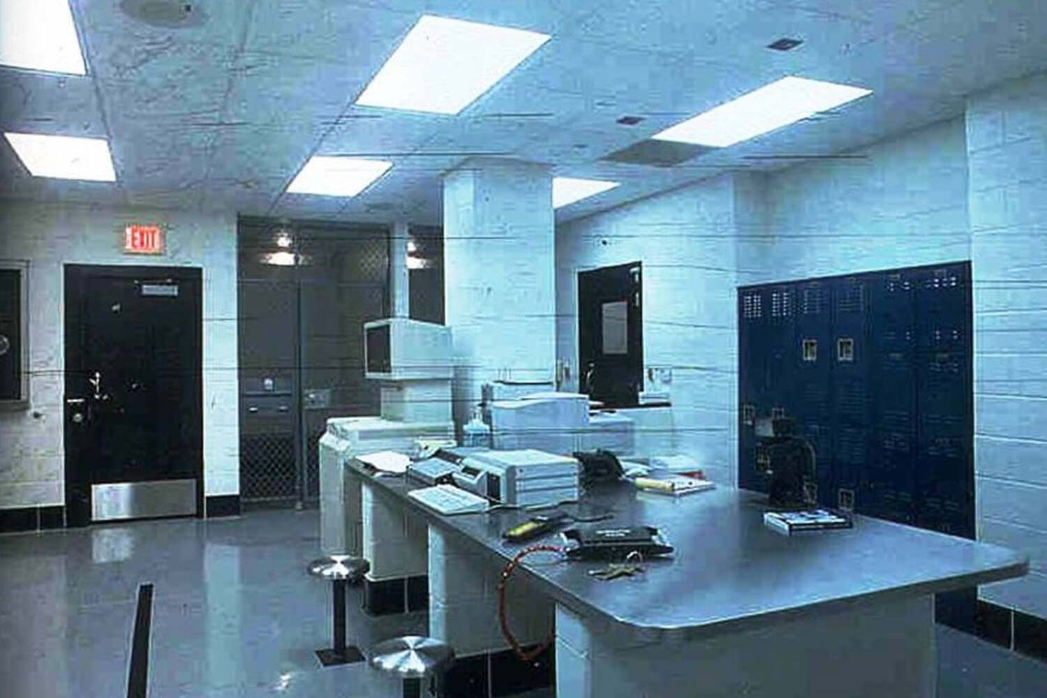 Barrington Public Safety Police and Fire Headquarters interior 2