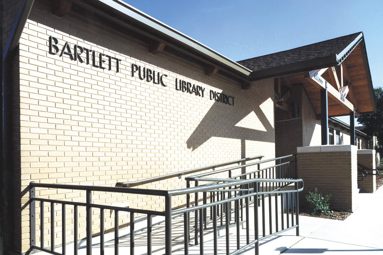 Bartlett Library exterior