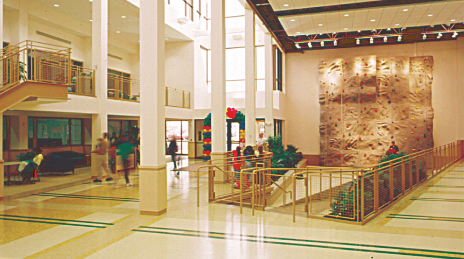 Bolingbrook Park District Annerino Center interior