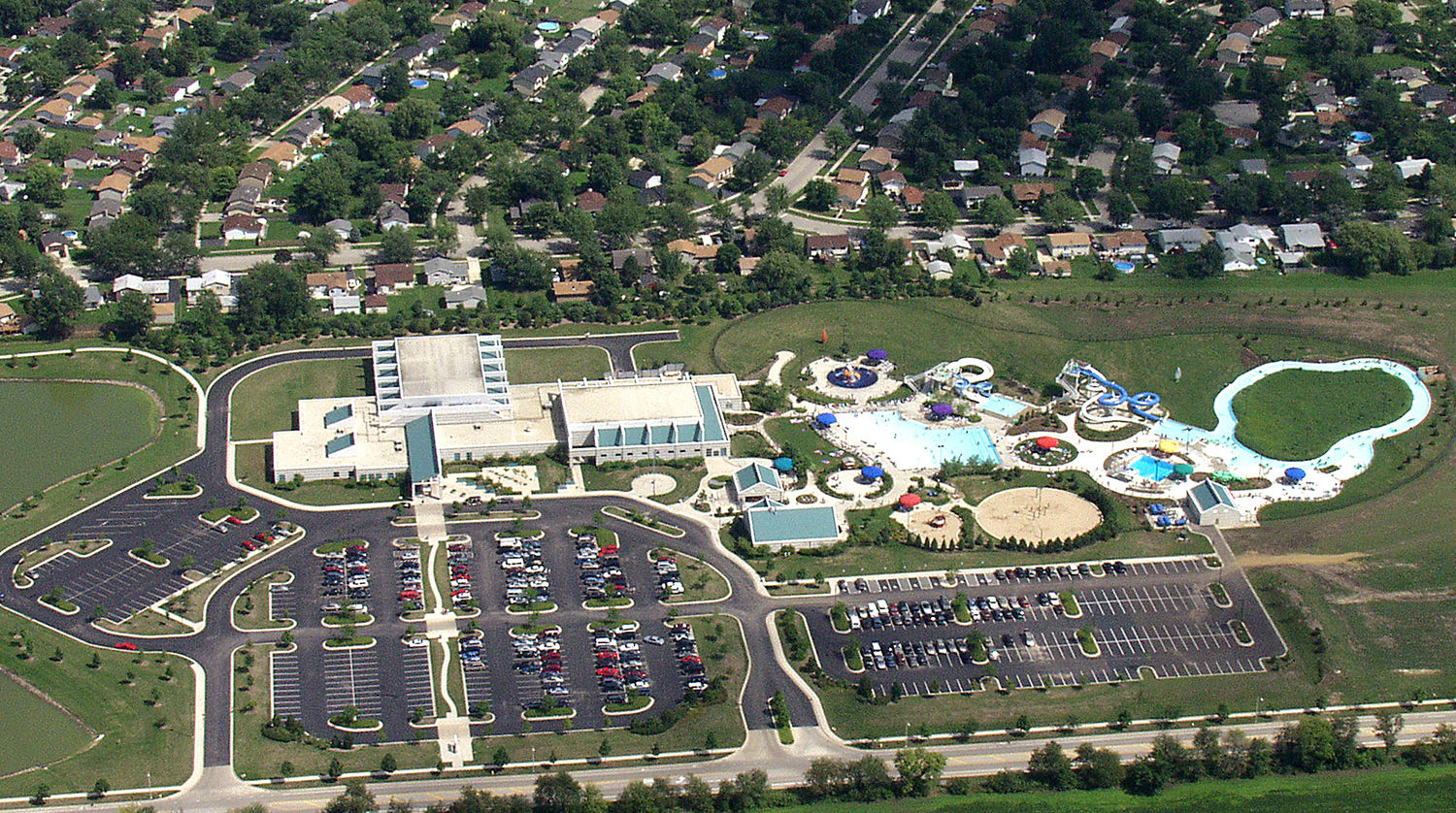 Bolingbrook Park District BRAC aerial 8