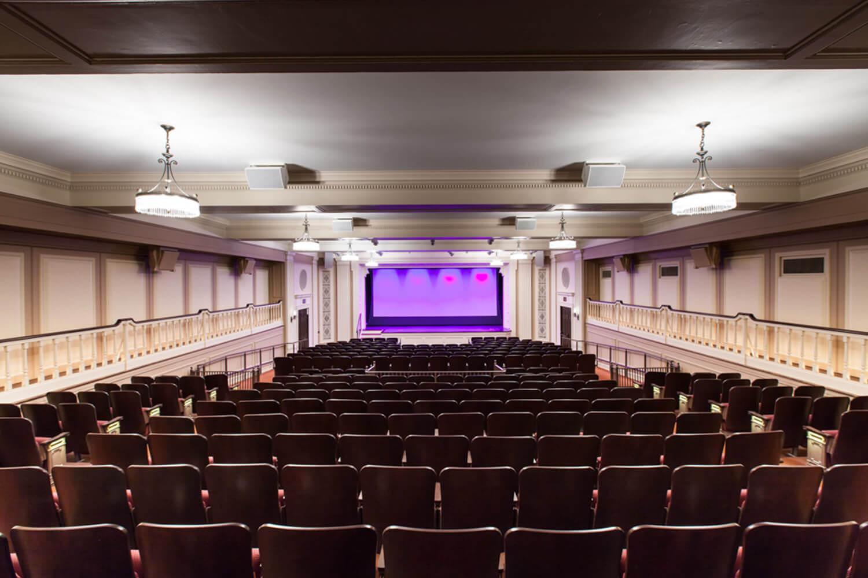 Chicago History Museum_ Auditorium Renovation interior 2