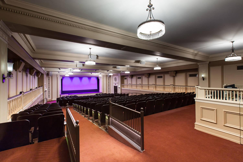 Chicago History Museum_ Auditorium Renovation interior