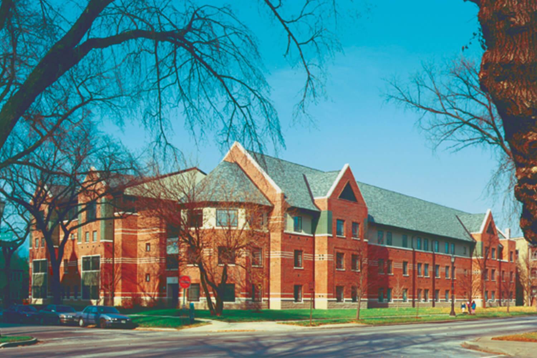 Children's Home & Aid Society Rice Children's Center- District 65 School exterior-2