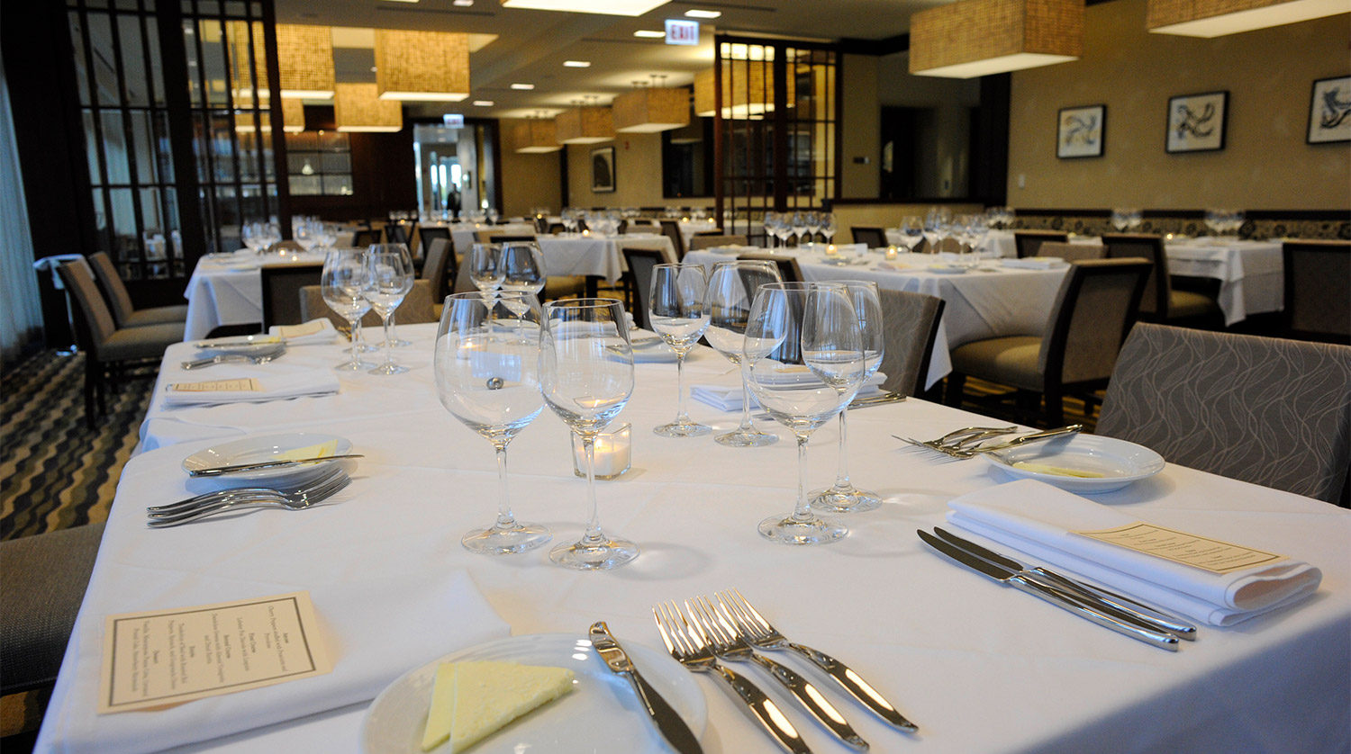 College of DuPage_ Culinary and Hospitality Center dining room
