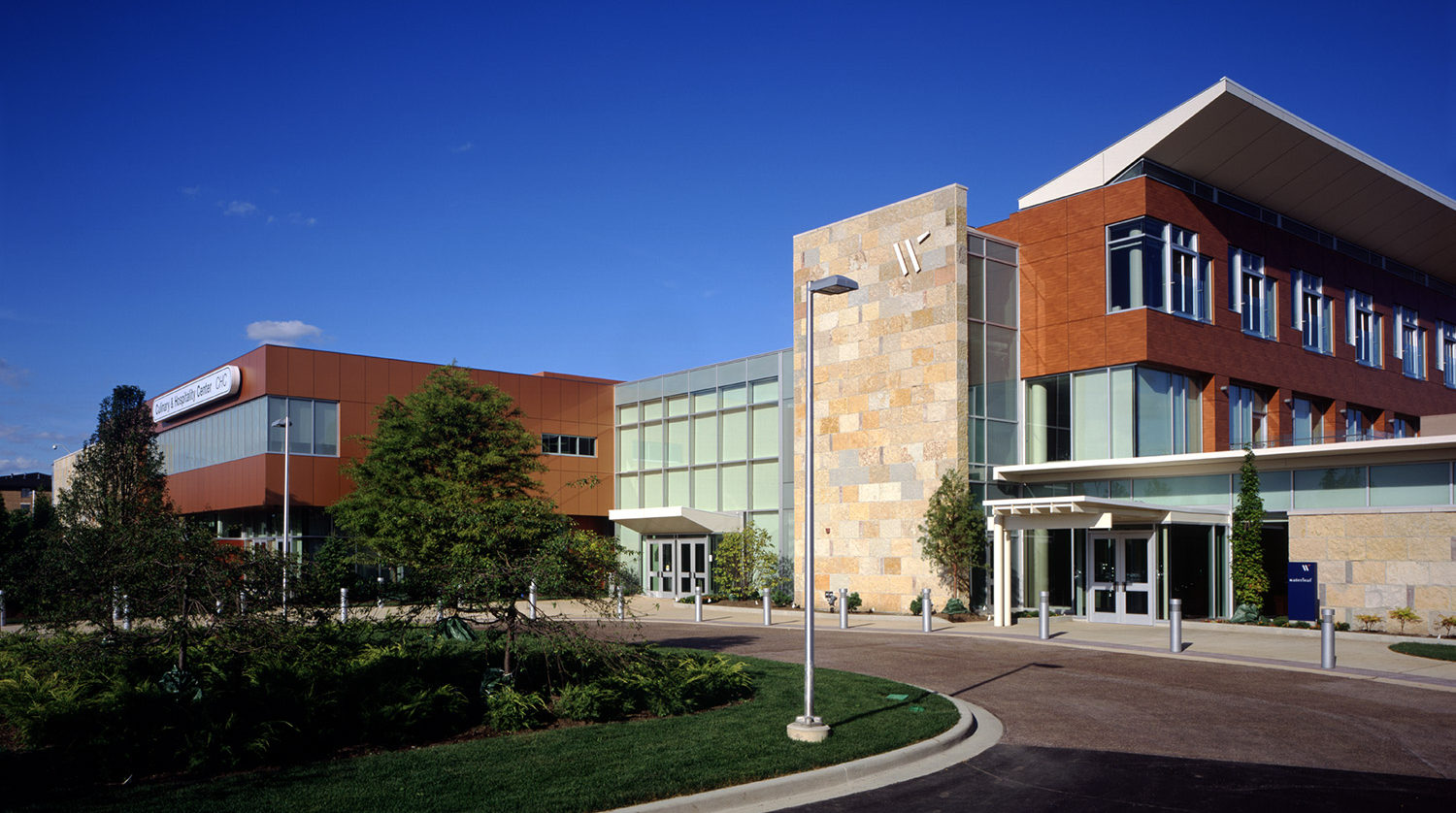 College of DuPage_ Culinary and Hospitality Center exterior 3
