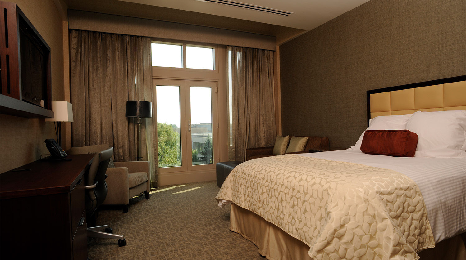 College of DuPage_ Culinary and Hospitality Center hotel room