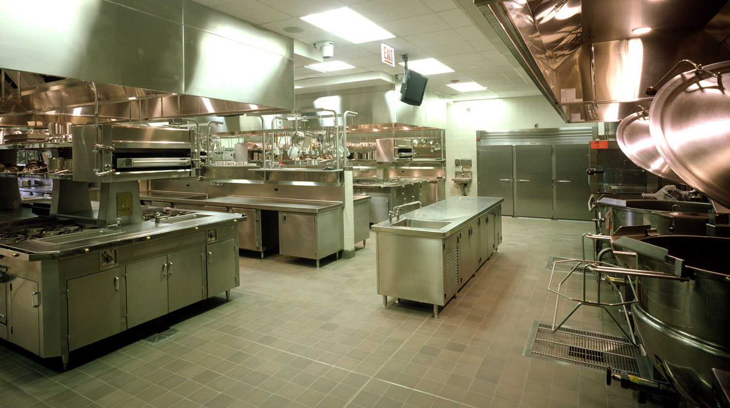 College of DuPage_ Culinary and Hospitality Center kitchens