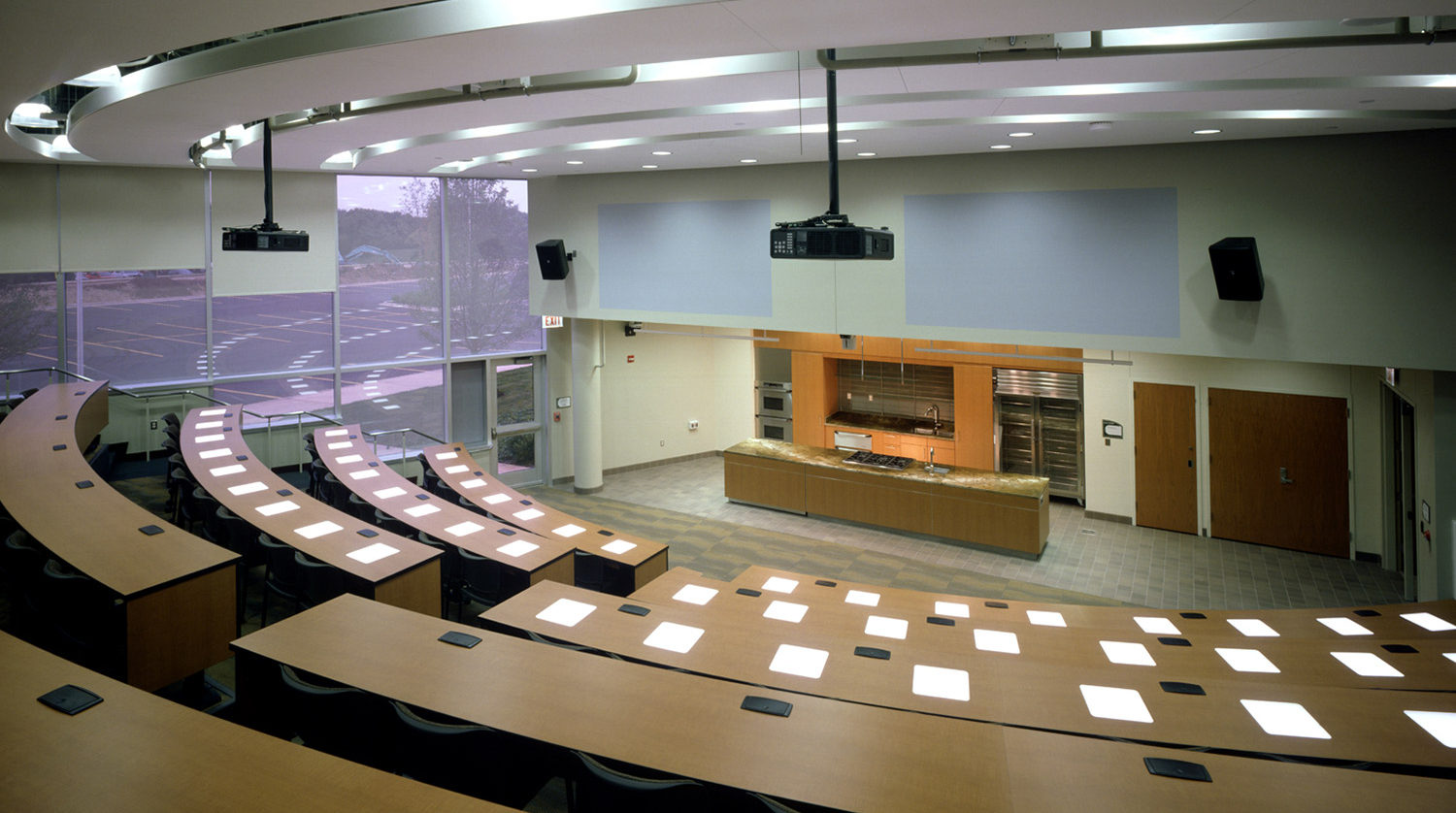 College of DuPage_ Culinary and Hospitality Center lecture hall