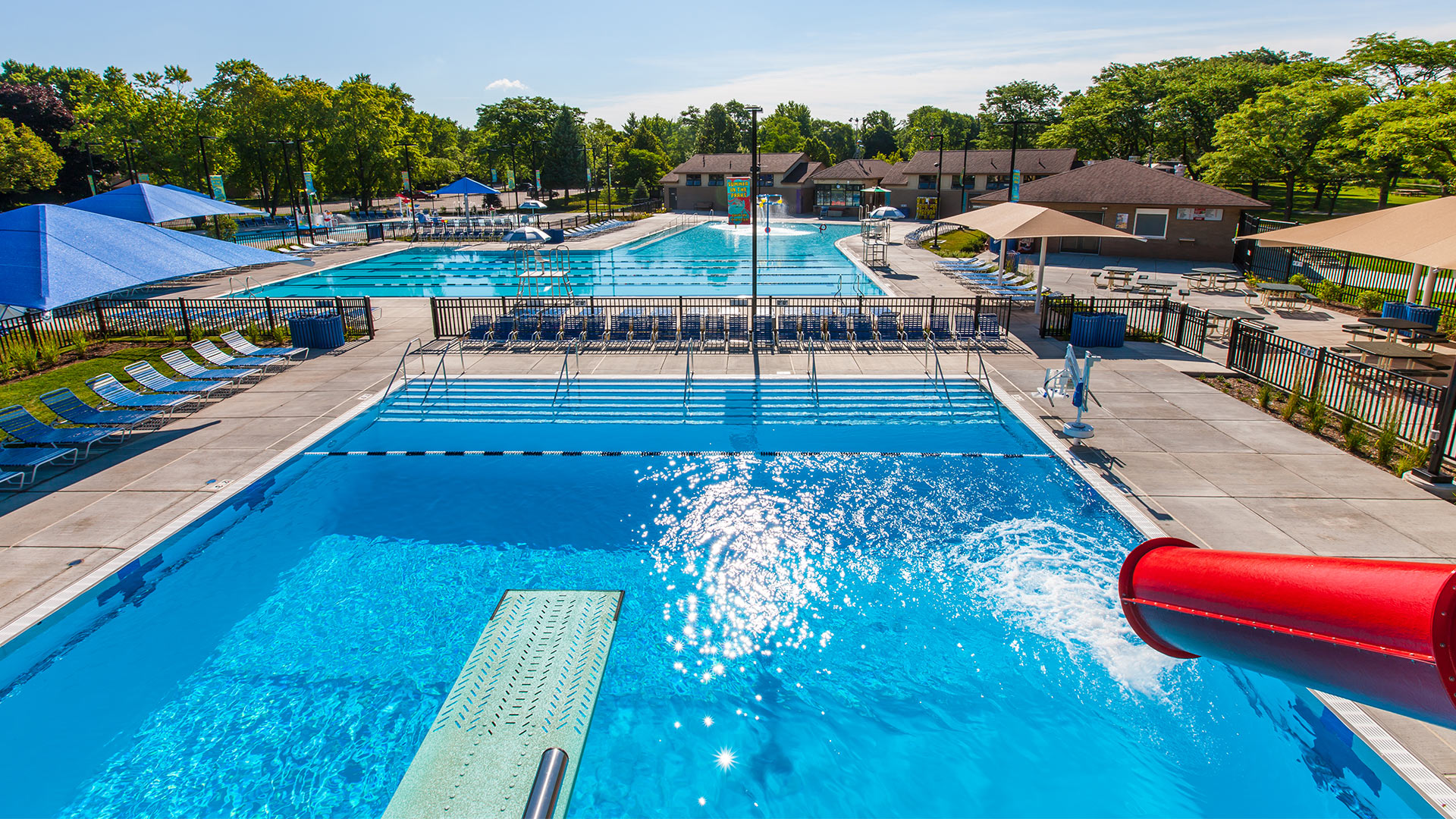 Deerfield Park District – Mitchell Pool