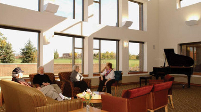 Deerfield Park District Patty Turner Senior Center interior 1