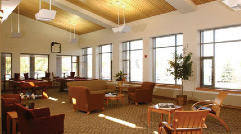 Deerfield Park District Patty Turner Senior Center interior 2