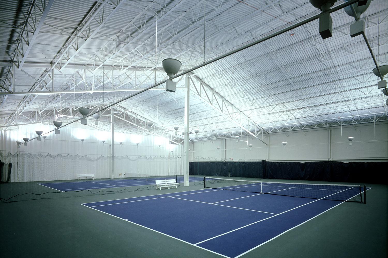 Deerfield Park District Sachs Recreation Center tennis courts