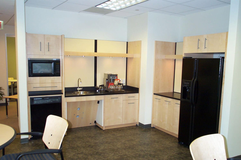 Drake Beam Morin kitchen