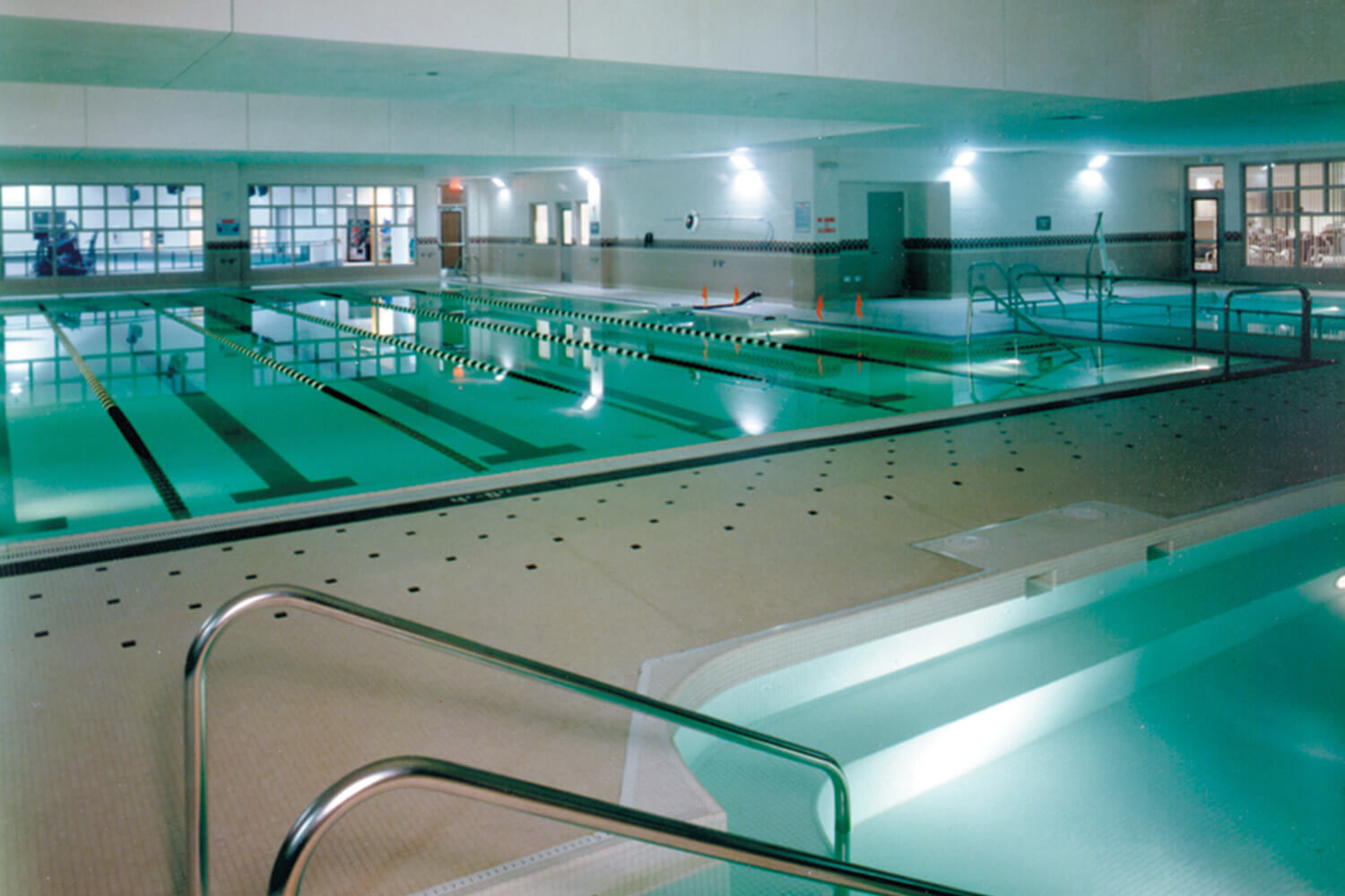 Edward Hospital Health and Fitness Center pools