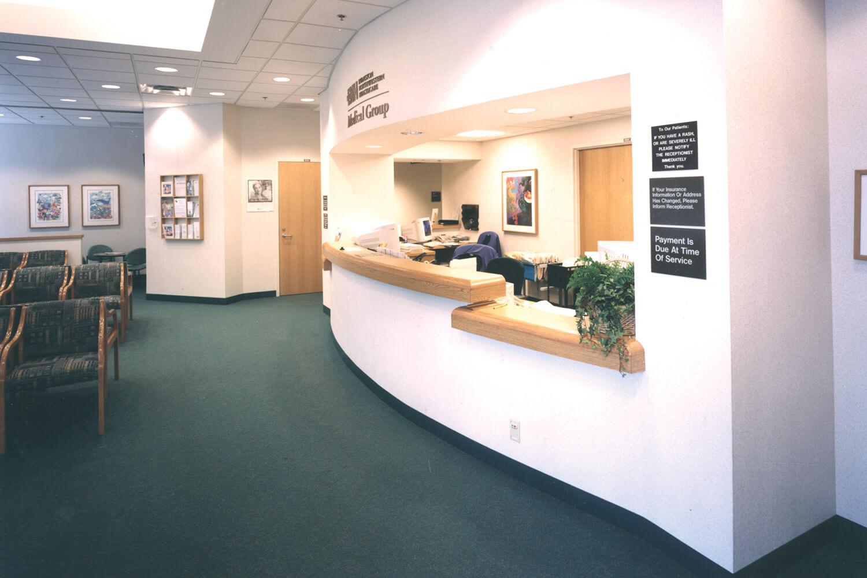 Evanston Northwestern Healthcare_ Deerfield Clinic reception