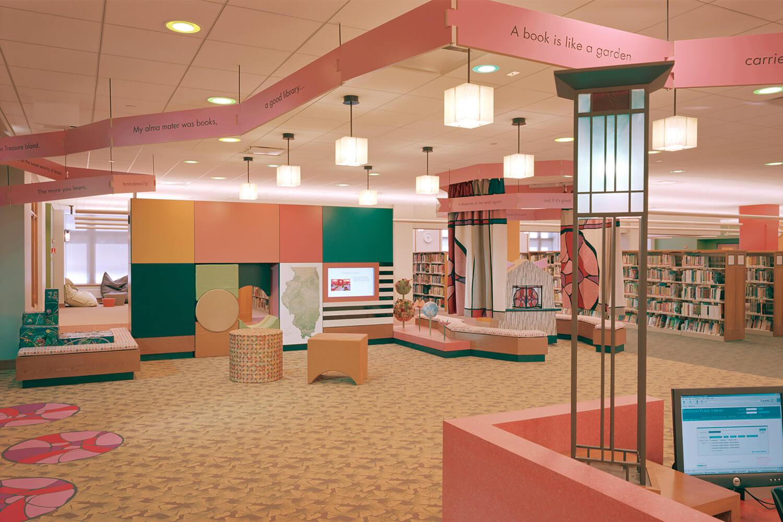 Evanston Public Library Renovation children's section 2