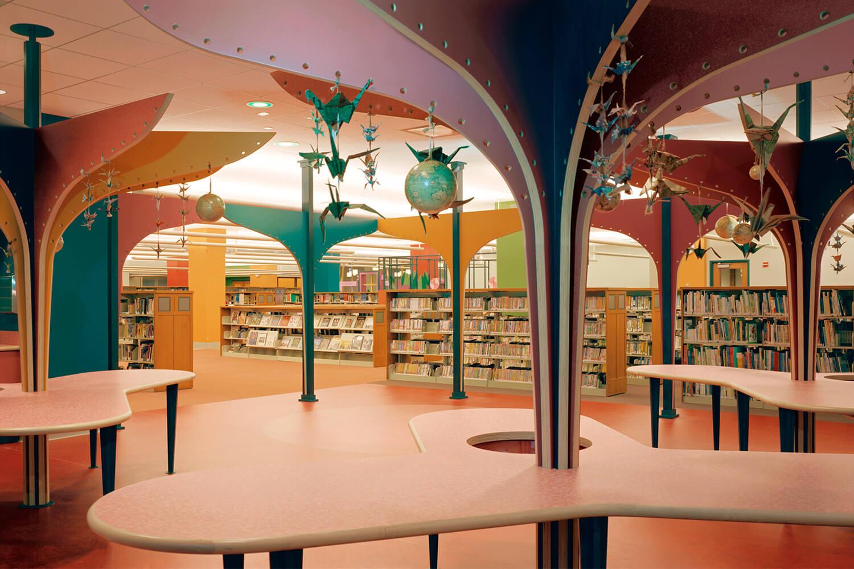 Evanston Public Library Renovation children's section 3