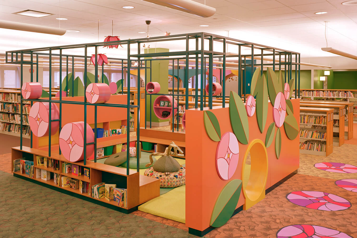 Evanston Public Library Renovation children's section 4