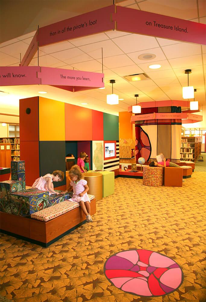 Evanston Public Library Renovation children's section 5