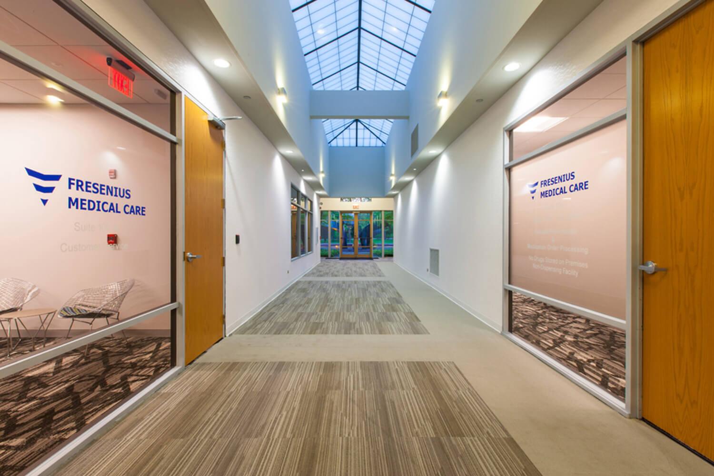 Fresenius Medical Care – North America hallway