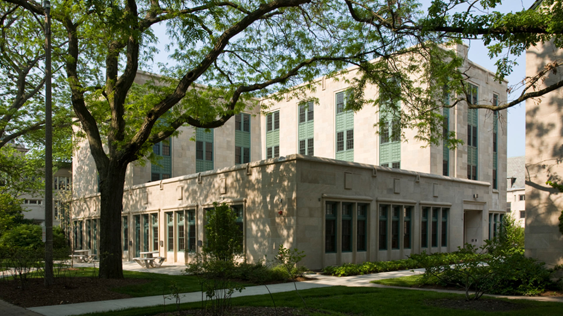 Garrett-Evangelical Theological Seminary Loder Hall