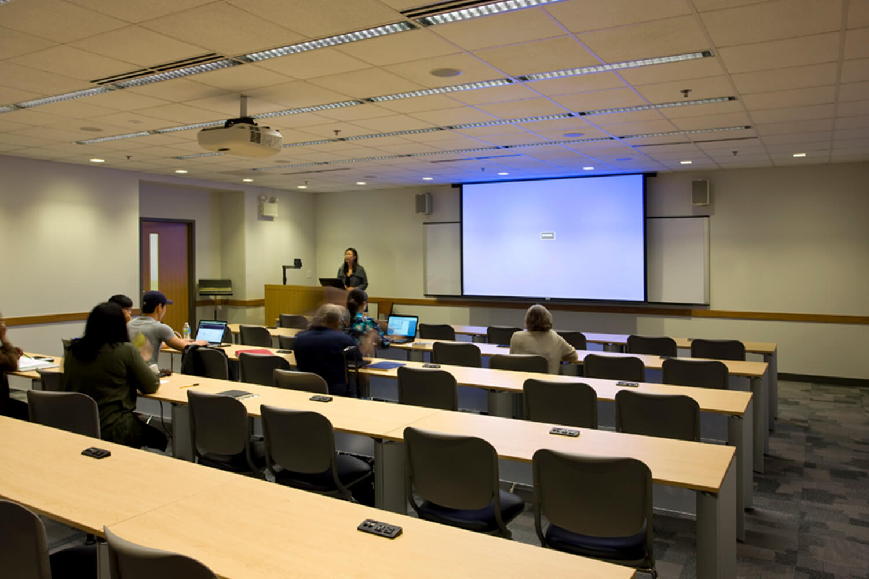 Garrett-Evangelical Theological Seminary_ Loder Hall classroom