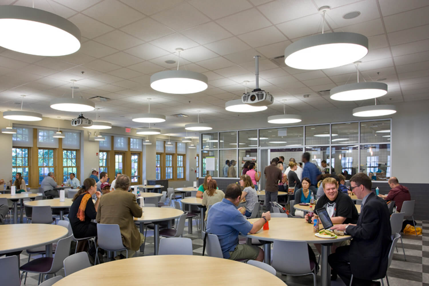 Garrett-Evangelical Theological Seminary_ Loder Hall dining hall
