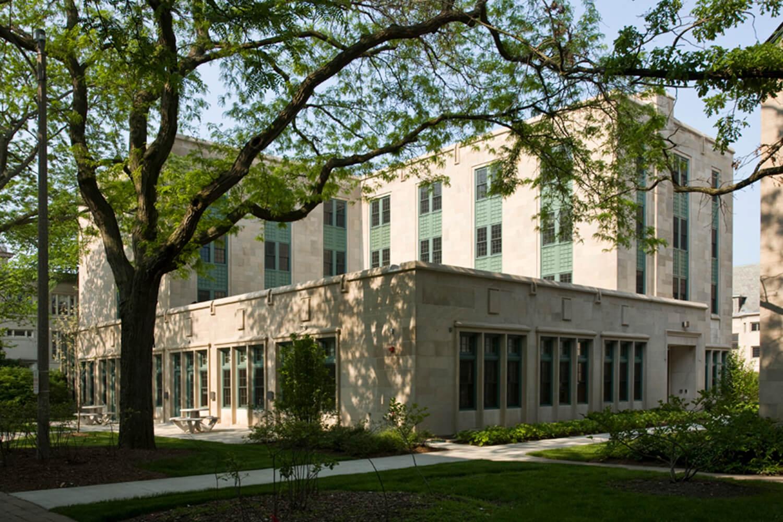 Garrett-Evangelical Theological Seminary_ Loder Hall exterior
