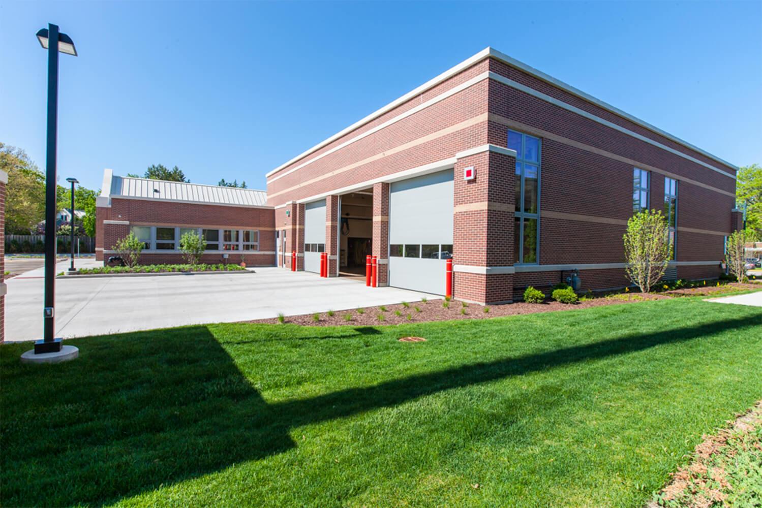 Glenview Fire Station Headquarters exterior 4
