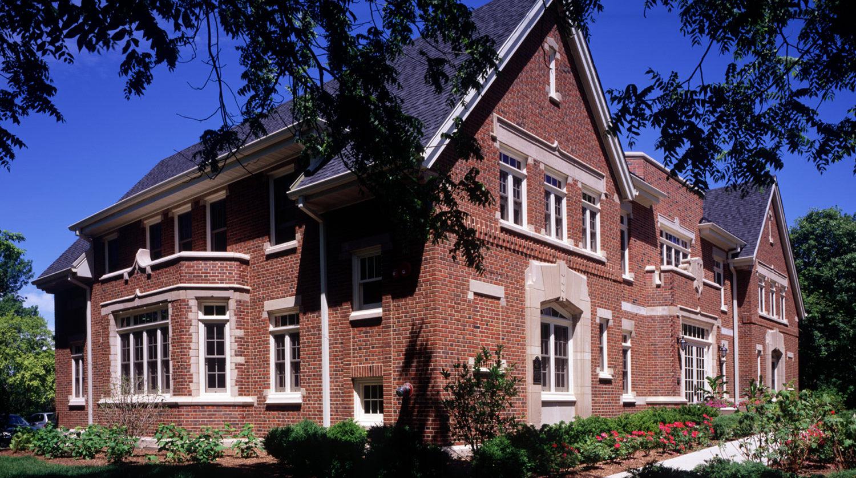 Glenview Park District Administration Building exterior 2