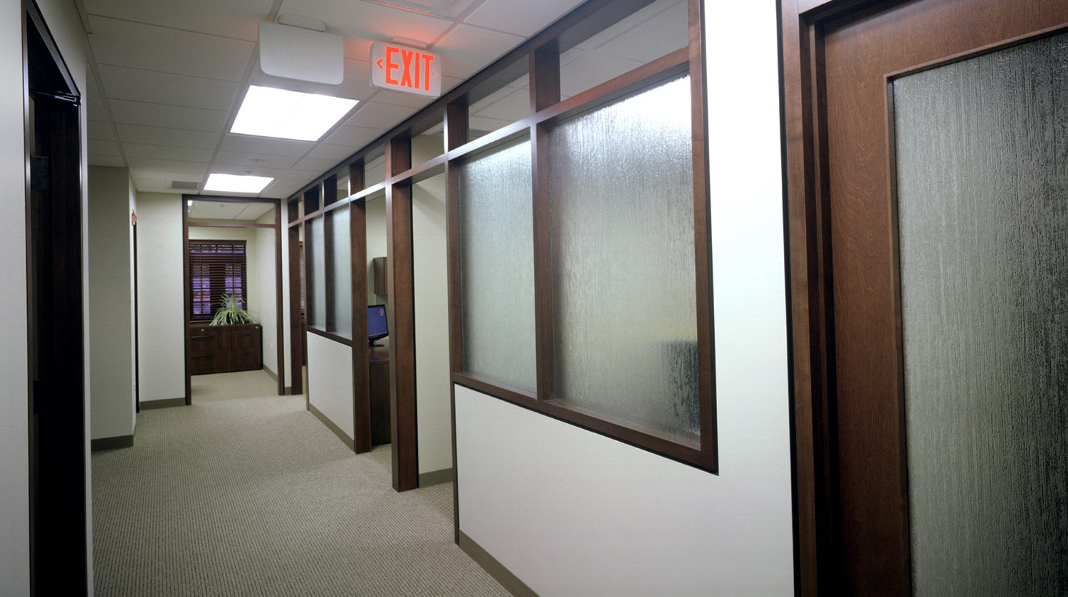 Glenview Park District Administration Building hallway