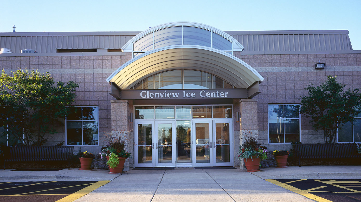 Glenview Park District Glenview Ice Center exterior