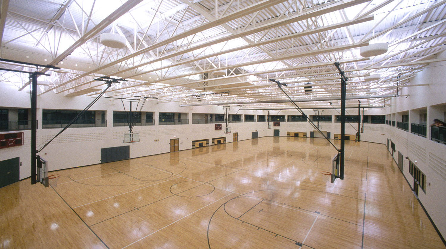 Glenview Park District Park Center basketball court