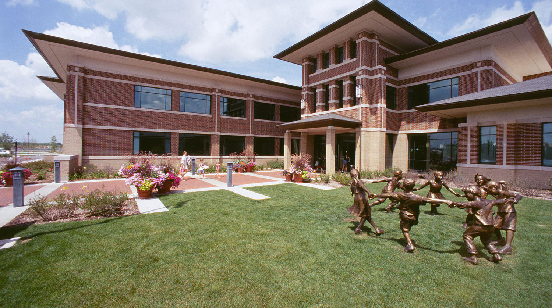 Glenview Park District Park Center exterior