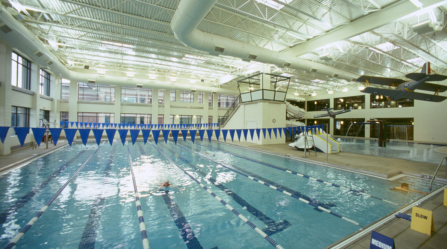 Glenview Park District Park Center pool