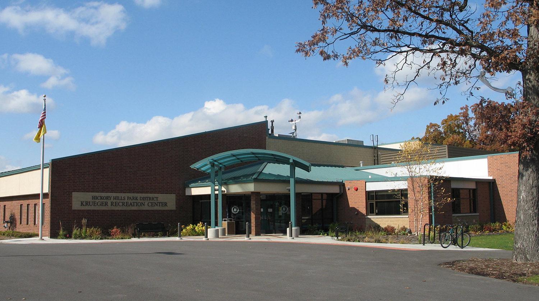 Hickory Hills Park District Krueger Recreation Center Renovation exterior