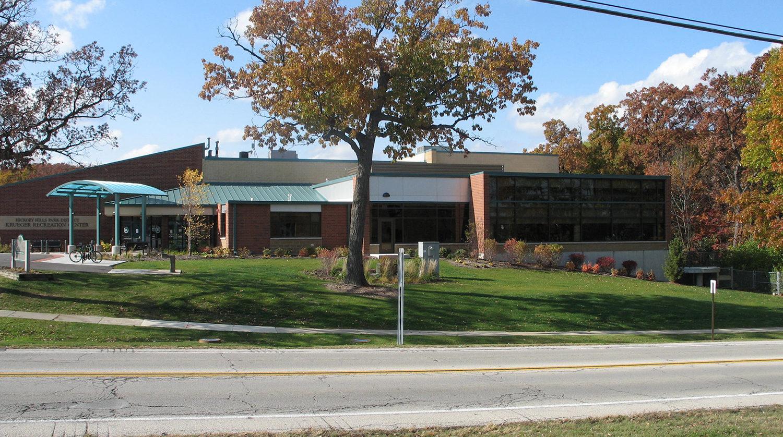 Hickory Hills Park District Krueger Recreation Center Renovation exterior 2