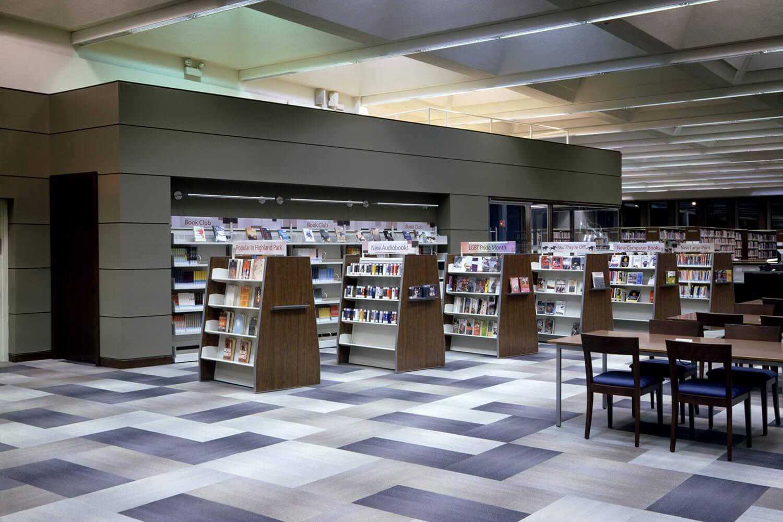 Highland Park Library Interior Renovation interior 2