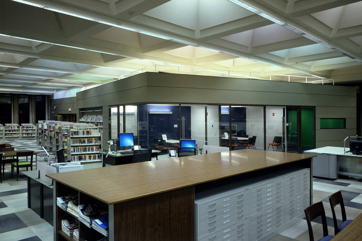 Highland Park Library Interior Renovation interior