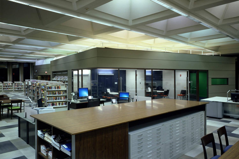 Highland Park Library Interior Renovation interior