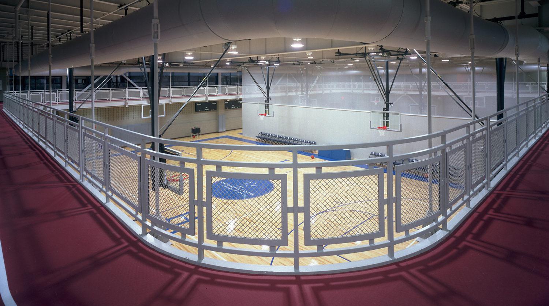Highland Park Recreation Center basketball court