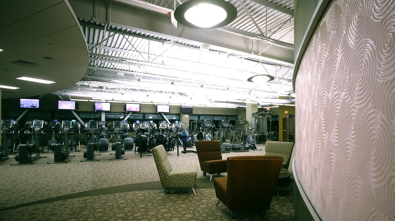 Highland Park Recreation Center gym