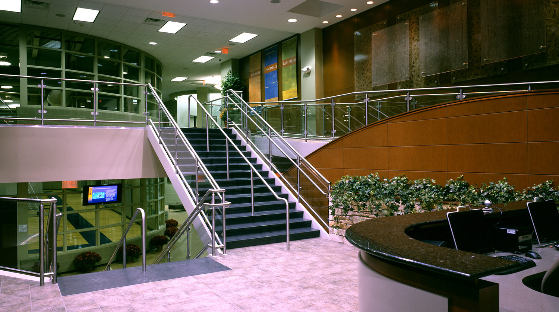 Highland Park Recreation Center stairway