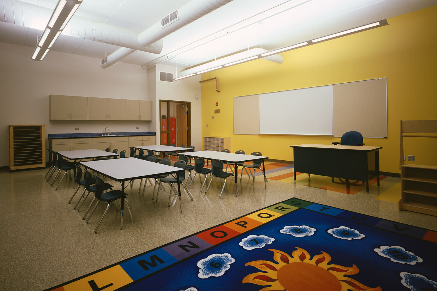 Holy Family Lutheran School classroom