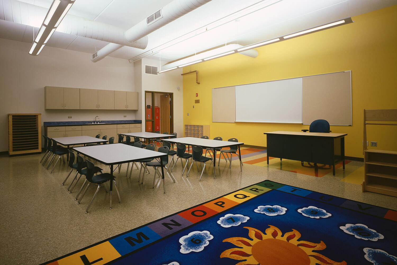 Holy Family Lutheran School classroom