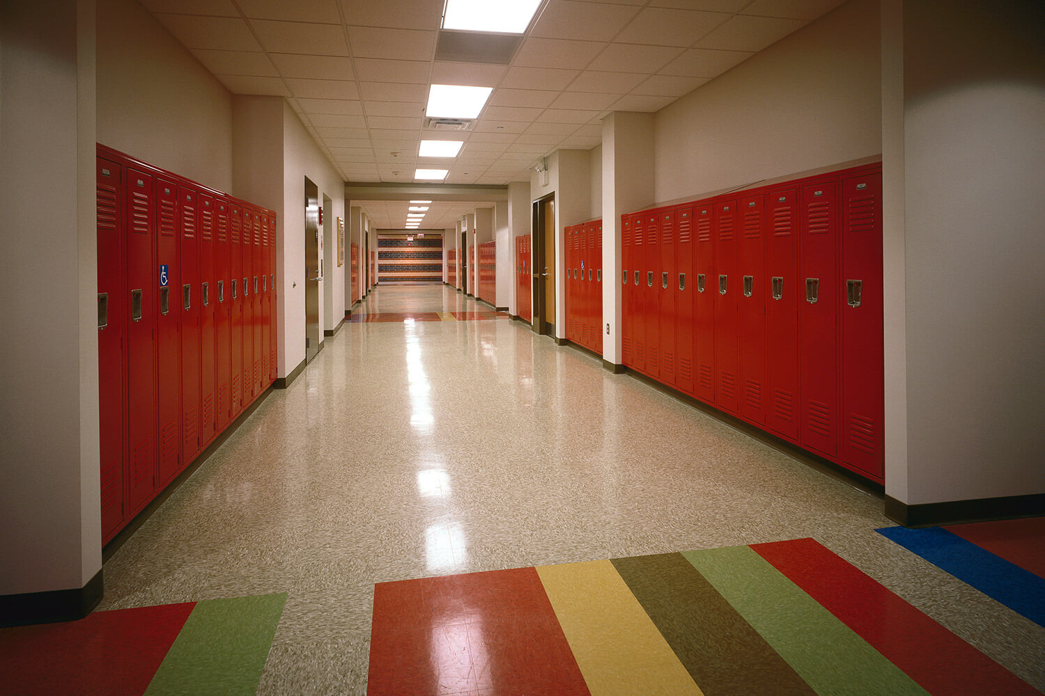Holy Family Lutheran School hallway