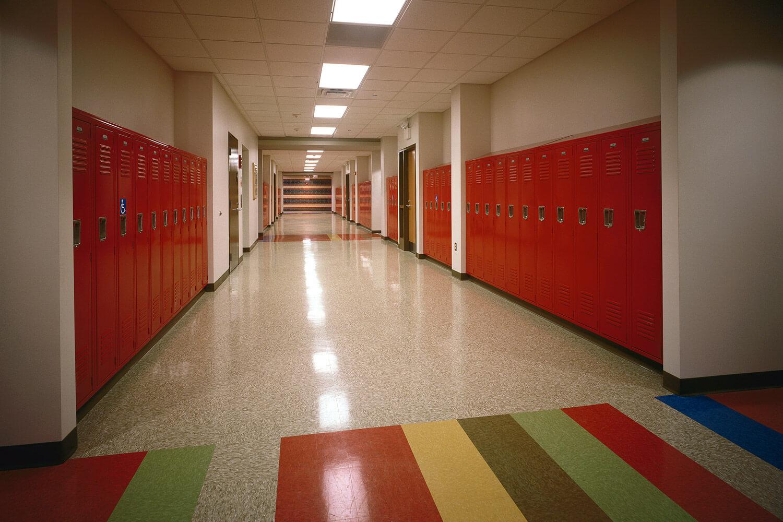 Holy Family Lutheran School hallway
