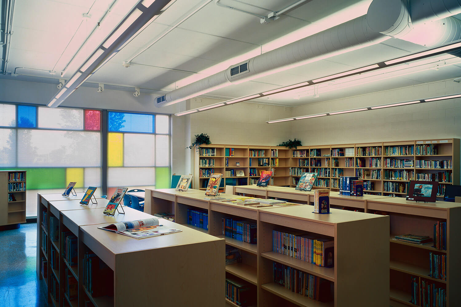 Holy Family Lutheran School library