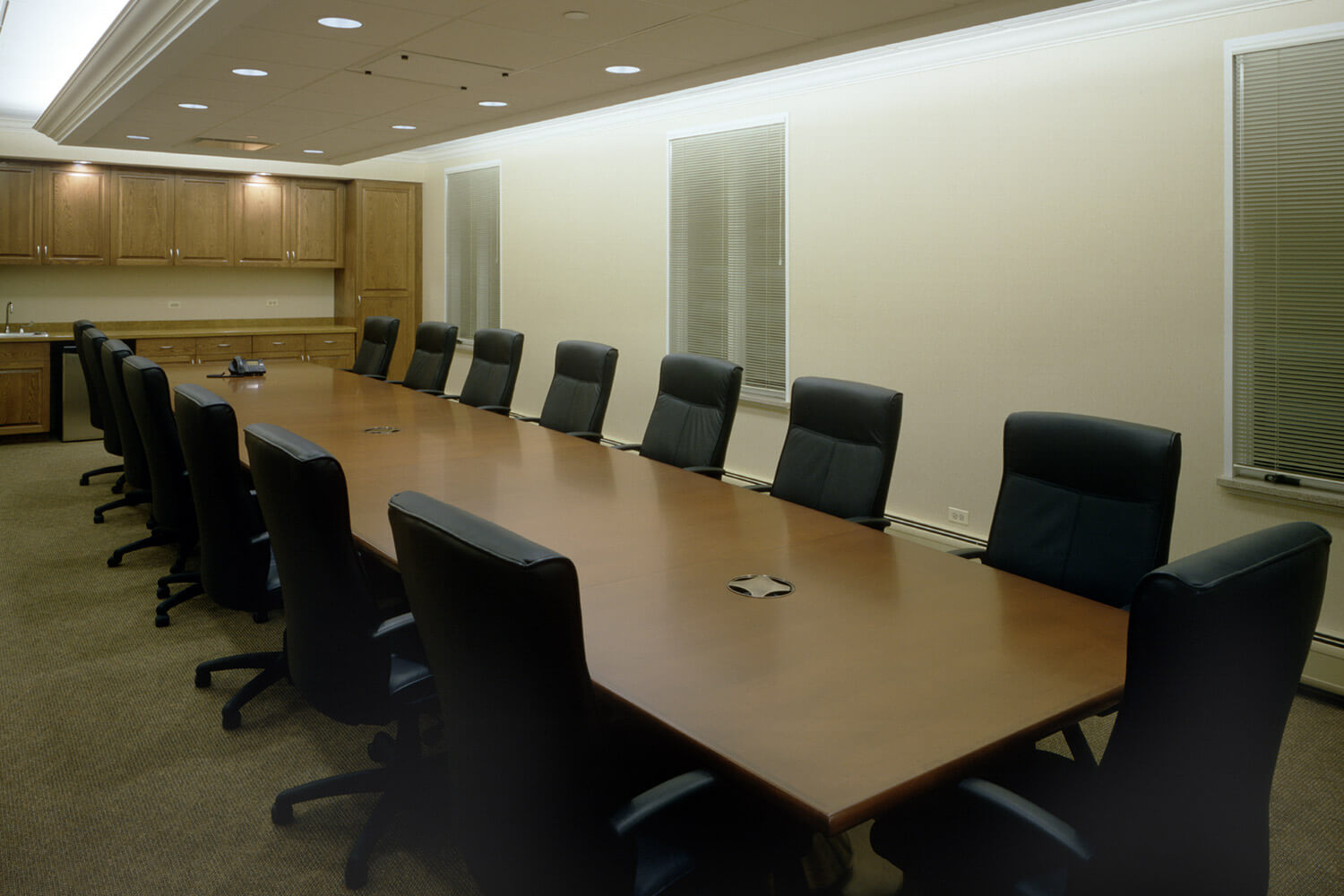 Illinois Heart & Vascular conference room